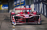 Jerome d'Ambrosio of Belgium from DRAGON  competes in the Formula E Qualifying Session 1 during the FIA Formula E Hong Kong E-Prix Round 1 at the Central Harbourfront Circuit on 02 December 2017 in Hong Kong, Hong Kong. Photo by Marcio Rodrigo Machado / Power Sport Images
