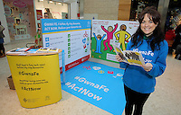 Pictured: Louisa Lorey Saturday 18 Saturday<br />Re: Welsh Government Dementia Risk Prevention Roadshow at the Quadrant Shopping Centre in Swansea, Wales, UK.