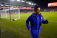 CARSON, CA - FEBRUARY 7: Ali Krieger #11 of the United States during a game between Mexico and USWNT at Dignity Health Sports Park on February 7, 2020 in Carson, California.