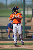 San Francisco Giants Mecky Coronado (41) during an instructional league game against the Kansas City Royals on October 23, 2015 at the Papago Baseball Facility in Phoenix, Arizona.  (Mike Janes/Four Seam Images)
