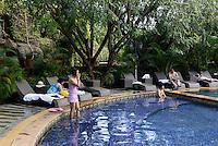Heiße Quellen bei Sanya auf der Insel Hainan, China<br /> Hot springs near Sanya, Hainan island, China