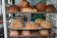 SENEGAL, Benedictine monastery Keur Moussa, bakery / Senegal, Benediktinerkloster Keur Moussa, Bäckerei