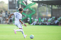 LAKE BUENA VISTA, FL - JULY 9: Jose Martinez #8 of the Philadelphia Union dribbles the ball during a game between New York City FC and Philadelphia Union at Wide World of Sports on July 9, 2020 in Lake Buena Vista, Florida.