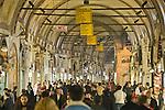 Istanbul, Turkey, Bazaar Quarter, covered market, Grand Bazaar, Kapali Carsi,