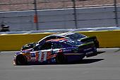 #11: Denny Hamlin, Joe Gibbs Racing, Toyota Camry FedEx Ground and #10: Aric Almirola, Stewart-Haas Racing, Ford Fusion Smithfield