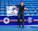 Niko Kranjcar enjoying his first morning as a Rangers player
