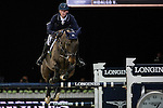 Daniel Deusser on Hidalgo V competes during the Airbus Trophy at the Longines Masters of Hong Kong on 20 February 2016 at the Asia World Expo in Hong Kong, China. Photo by Victor Fraile / Power Sport Images