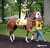 Wowwhatabrat before The Small Wonder on Owners Day at Delaware Park on 9/13/14