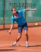 August 24, 2014, Netherlands, Amstelveen, De Kegel, National Veterans Championships, Bas Snelders (NED)<br /> Photo: Tennisimages/Henk Koster