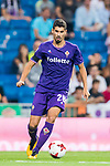 Gil Dias of ACF Fiorentina in action during the Santiago Bernabeu Trophy 2017 match between Real Madrid and ACF Fiorentina at the Santiago Bernabeu Stadium on 23 August 2017 in Madrid, Spain. Photo by Diego Gonzalez / Power Sport Images