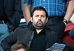 Montrose v St Johnstone…21.07.18…  Links Park    League Cup<br />Falkirk manager Paul Hartley watches the game ahead of his side facing St Johnstone on Tuesday night<br />Picture by Graeme Hart. <br />Copyright Perthshire Picture Agency<br />Tel: 01738 623350  Mobile: 07990 594431