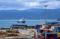 CentrePort in Wellington, New Zealand on Tuesday, 12 November 2019. Photo: Dave Lintott / lintottphoto.co.nz