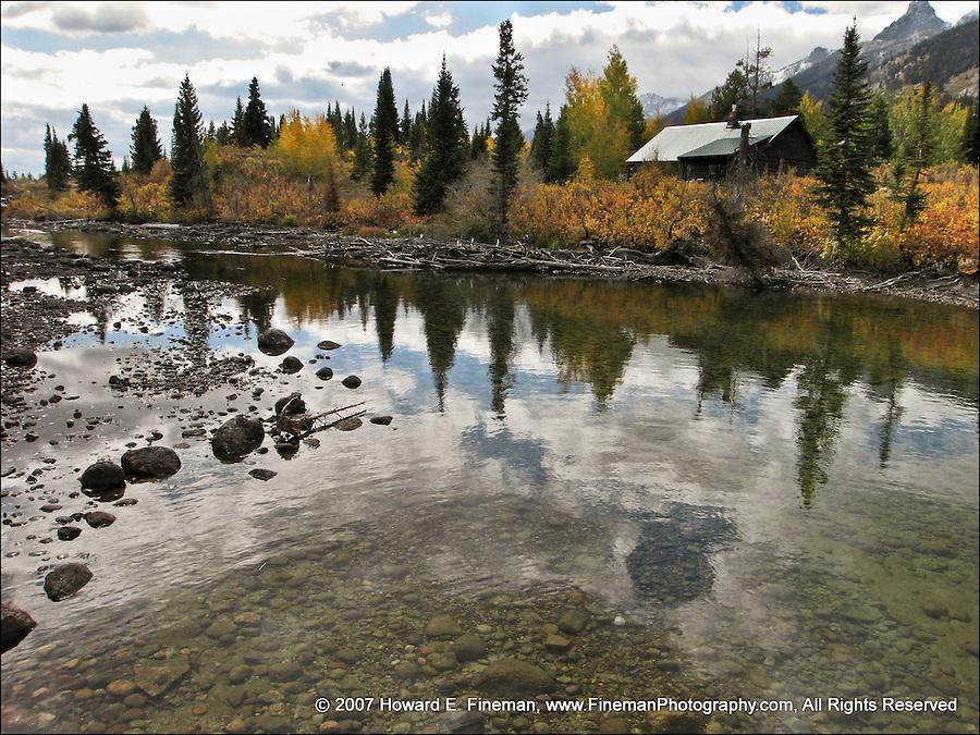 Creek at Jenny Lake, Grand Tetons