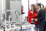 Queen Letizia of Spain visit the Academy of Artillery of Segovia.April 13,2014. (ALTERPHOTOS/Acero)