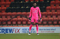 Lawrence Vigouroux of Leyton Orient during Leyton Orient vs Crawley Town, Sky Bet EFL League 2 Football at The Breyer Group Stadium on 19th December 2020