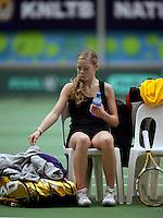 6-12-09, Almere, Tennis, REAAL winterjeugdcircuit,Masters,  Roos van der Zwaan