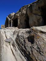 späthellenistische Anlage, Höhlenstadt Uplisziche - Uplistsikhe, Innerkartlien, Georgien, Europa<br /> late Hellenistic cave city Uplisziche, Shida Kartli,  Georgia, Europe