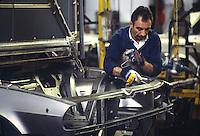 - assembly lines in the car factory Alfa Romeo in Arese(Milan, Mars 1978)<br /> <br /> - catene di montaggio nella fabbrica di automobili Alfa Romeo di Arese (Milano, marzo 1978)