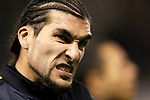 FC Barcelona's Jose Manuel Pinto during Spanish King's Cup match.October 30,2012. (ALTERPHOTOS/Acero)