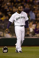 May 19, 2010: Seattle Mariners' Milton Bradley (15) during a game against the Toronto Blue Jays at Safeco Field in Seattle, Washington.