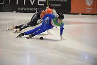 SPEEDSKATING: DORDRECHT: 06-03-2021, ISU World Short Track Speedskating Championships, SF 3000m Relay, Arianna Fontana (ITA), ©photo Martin de Jong