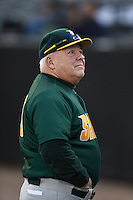 Siena Saints head coach Tony Rossi (40) before the opening game of the season against the UCF Knights on February 13, 2015 at Jay Bergman Field in Orlando, Florida.  UCF defeated Siena 4-1.  (Mike Janes/Four Seam Images)