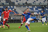Andrea Belotti of Italy during the Uefa Nation League Group Stage A1 football match between Italy and Poland at Citta del Tricolore Stadium in Reggio Emilia (Italy), November, 15, 2020. Photo Andrea Staccioli / Insidefoto