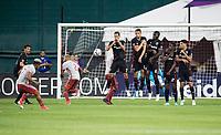Washington, DC - June 21, 2017: D.C. United defeated Atlanta United 2-1 during their Major League Soccer (MLS) match at RFK Stadium.