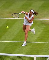26-06-13, England, London,  AELTC, Wimbledon, Tennis, Wimbledon 2013, Day three, Petra Celkovska (CZE)<br /> <br /> <br /> <br /> Photo: Henk Koster