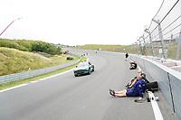2nd September 2021: Circuit Zandvoort,  Zandvoort, Netherlands;  The new steep curve before the start finish straight in Zandvoort Formula 1 Heineken Dutch Grand Prix 2021, 13th round of the 2021 FIA Formula One World Championship