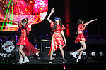 Members of the idol group Silent Siren perform during the Moshi Moshi Nippon Festival 2016 on November 26, 2016 in Tokyo, Japan. Moshi Moshi Nippon Festival 2016 aims to promote Japanese pop culture (fashion, anime, technology, music and food) to the world, and non-Japanese visitors are able to enter the event for free by showing their passport. This year's two day event included live shows by Japanese pop stars Silent Siren, Dempagumi.inc, Tempura Kids, Capsule and Kyary Pamyu Pamyu at the Tokyo Metropolitan Gymnasium. (Photo by Rodrigo Reyes Marin/AFLO)