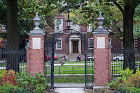 The Symmes Gate on the campus of Williams College, Williamstown, Massachusetts, USA
