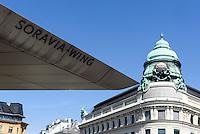 Generali-Gebäude am Albertina-Platz und Dach der Albertina, Wien, Österreich, UNESCO-Weltkulturerbe<br /> Roof of Albertina and Generalibuilding, Vienna, Austria, world heritage