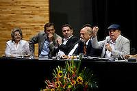 Faculdade de Ciências Econômicas da Universidade Federal do Pará comemora  65 anos de sua criação e homenageia, em cerimônia,  os economistas Armando Dias Mendes, José Marcelino Monteiro da Costa, Henrique Osaqui e Roberto Santos na UFPA.<br /> Belém, Pará, Brasil.<br /> Foto Paulo Santos
