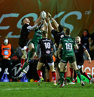 27th December 2020 | Connacht  vs Ulster <br /> <br /> Ethan McIlroy during the PRO14 Round 9 clash again Connacht at the Sportsground in Galway, Ireland. Photo by John Dickson/Dicksondigital