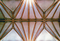 Lincoln Cathedral--nave vaulting, 1240. Lincoln England. Gothic design