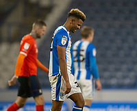 7th November 2020 The John Smiths Stadium, Huddersfield, Yorkshire, England; English Football League Championship Football, Huddersfield Town versus Luton Town; Fraizer Campbell of Huddersfield Town sees late shot go wide