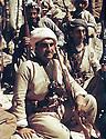 Iraq 1963 .Mustafa Barzani with his peshmergas.Iraq 1963.Mustafa Barzani avec ses peshmergas