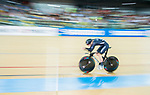 Dylan Kennett of New Zealand competes in the Men's Kilometre TT Final during the 2017 UCI Track Cycling World Championships on 16 April 2017, in Hong Kong Velodrome, Hong Kong, China. Photo by Marcio Rodrigo Machado / Power Sport Images