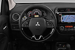 Car pictures of steering wheel view of a 2019 Mitsubishi Spacestar Invite 5 Door Hatchback Steering Wheel