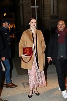 Karen Elson<br /> Parigi 22/01/2020<br /> Settimana della moda di Parigi <br /> Moda Donna - Giorgio Armani Ospiti <br /> Photo Gwendolin Le Goff/Panoramic/Insidefoto <br /> Italy Only