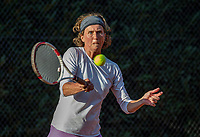 Hilversum, The Netherlands,  August 23, 2019,  Tulip Tennis Center, NSK, Margit Velds (NED)<br /> Photo: Tennisimages/Henk Koster