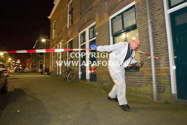 Arnhem, 040411<br /> Dode vrouw gevonden in woning Agnietenstraat.<br /> Foto: Sjef Prins  - APA Foto