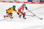 Eishockey: Deutschland – Tschechien am 01.05.2021 in der ARENA Nürnberger Versicherung in Nürnberg<br /> <br /> Deutschlands Laurin Braun (Nr.12) gegen Tschechiens Jan Scotka (Nr.96)<br /> <br /> Foto © Duckwitz/osnapix/PIX-Sportfotos *** Foto ist honorarpflichtig! *** Auf Anfrage in hoeherer Qualitaet/Aufloesung. Belegexemplar erbeten. Veroeffentlichung ausschliesslich fuer journalistisch-publizistische Zwecke. For editorial use only.