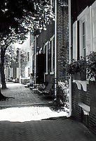 DE: New Castle--Row Houses.