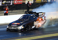Jul. 26, 2014; Sonoma, CA, USA; NHRA funny car driver John Hale during qualifying for the Sonoma Nationals at Sonoma Raceway. Mandatory Credit: Mark J. Rebilas-