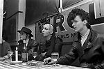 Blitz Kids New Romantics at The Blitz Club Covent Garden, London, England 1980.<br />