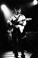 Montreal (QC) CANADA - April 16 , 1983  File Photo  -  - Roy Buchanan in concert at Club SodaMontreal (QC) CANADA - April 16 , 1983  File Photo    - Roy Buchanan in concert at Club Soda