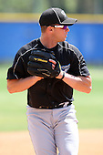 March 29, 2010:  Matt Nuzzo of the Toronto Blue Jays organization during Spring Training at the Englebert Minor League Complex in Dunedin, FL.  Photo By Mike Janes/Four Seam Images