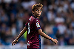 Takashi Inui of SD Eibar reacts during the La Liga 2017-18 match between Real Madrid and SD Eibar at Estadio Santiago Bernabeu on 22 October 2017 in Madrid, Spain. Photo by Diego Gonzalez / Power Sport Images